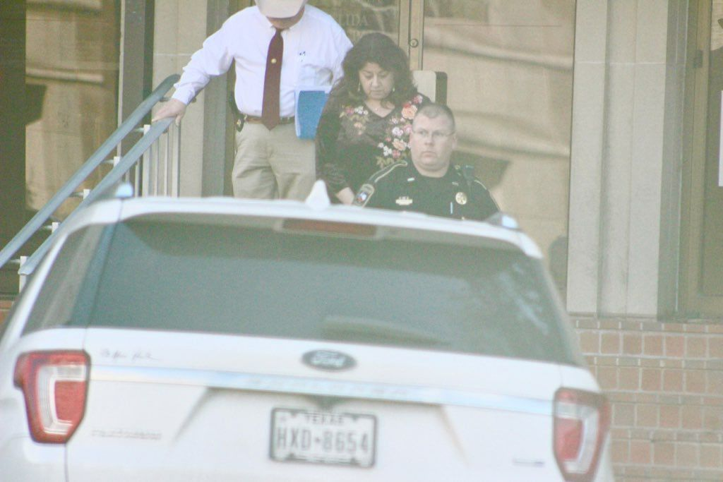 County official arrested Wednesday