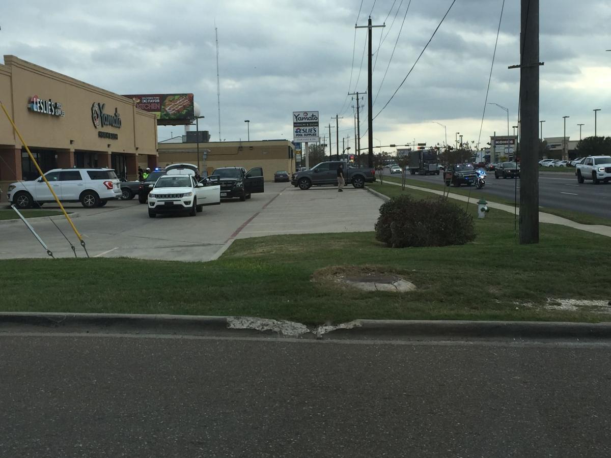 Arrest in Yamato Hibachi & Sushi parking lot