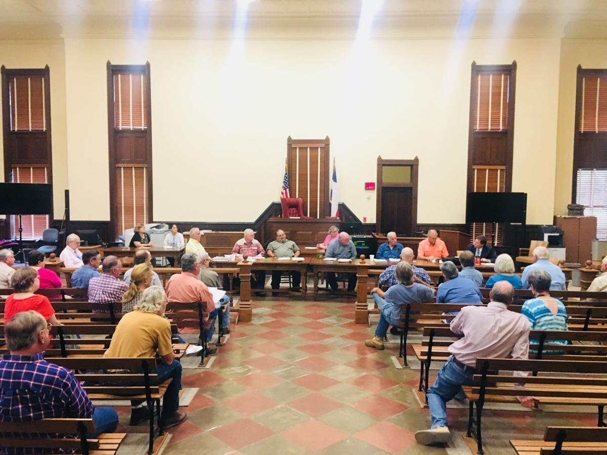 Goliad County budget