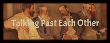 Talking past