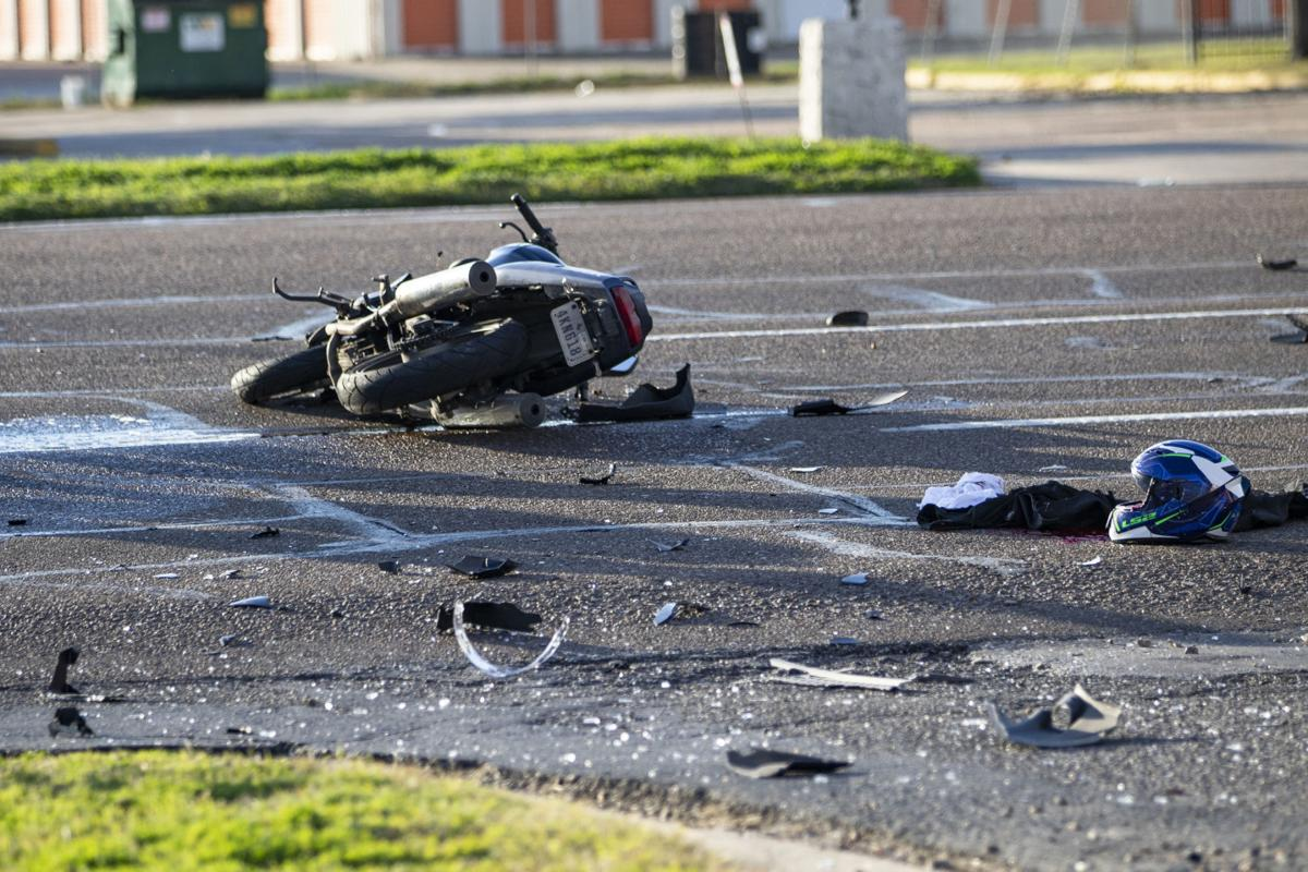 Update: Motorcyclist in Wednesday's crash dies of injuries