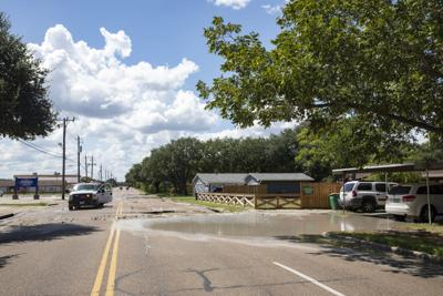 Airline Road reopens after water main break
