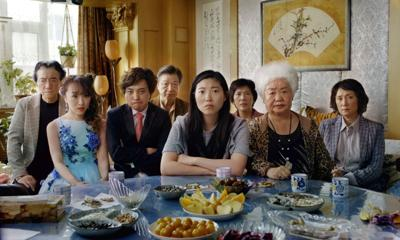 Awkwafina (center) in her first lead role stars in Lulu Wang's 'The Farewell'
