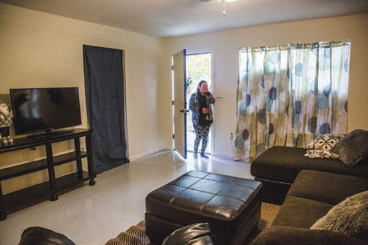Cuero mom surprised with furniture after Harvey (w/video)