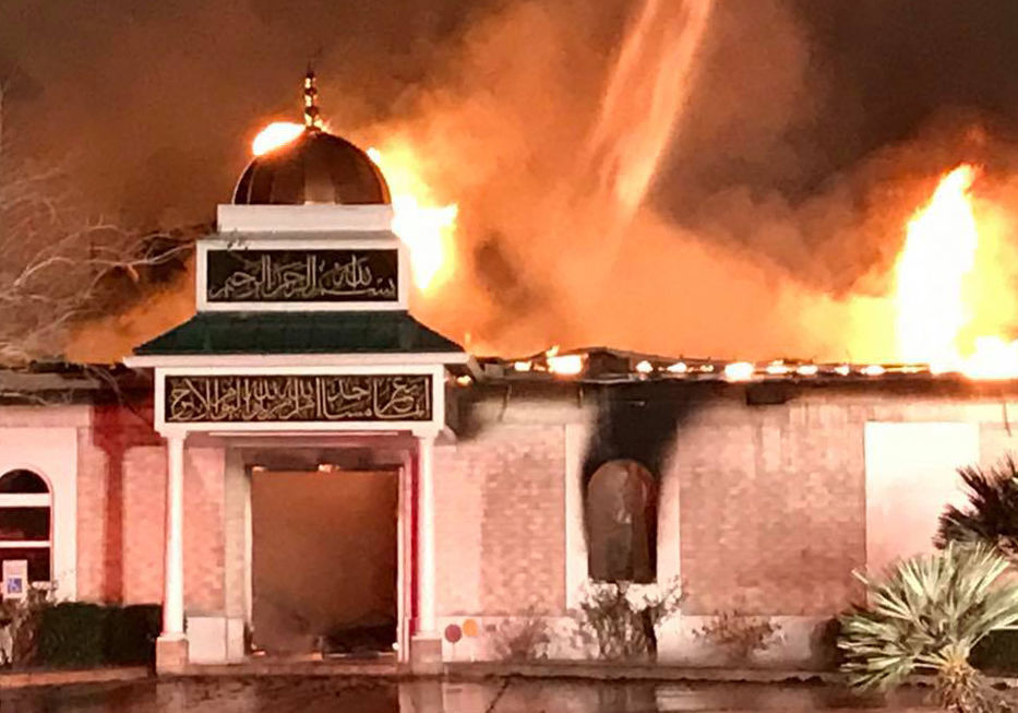 Mosque arson: From ashes to aftermath