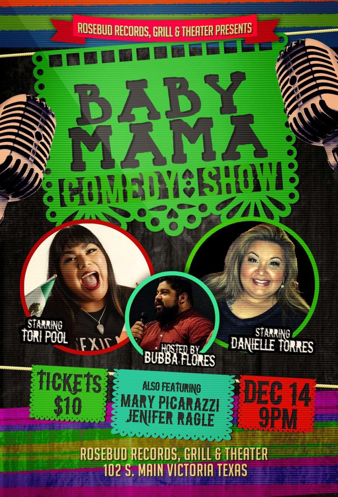 Baby Mama Comedy Showcase