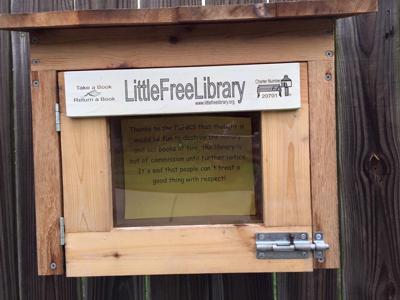 Little Free Library vandalized