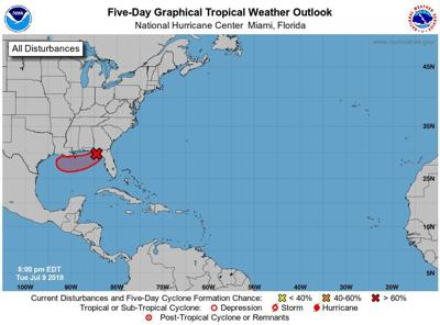National Hurricane Center: 90% chance of tropical development in next 48 hours