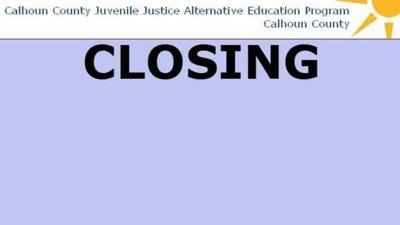 Calhoun County closes juvenile boot camp