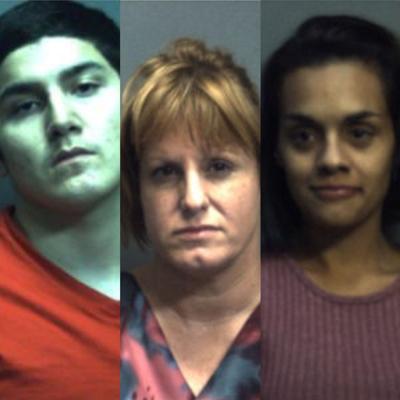 Three Defendants, Goliad County Trial