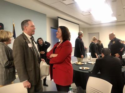 Victoria County DA talks to constituents