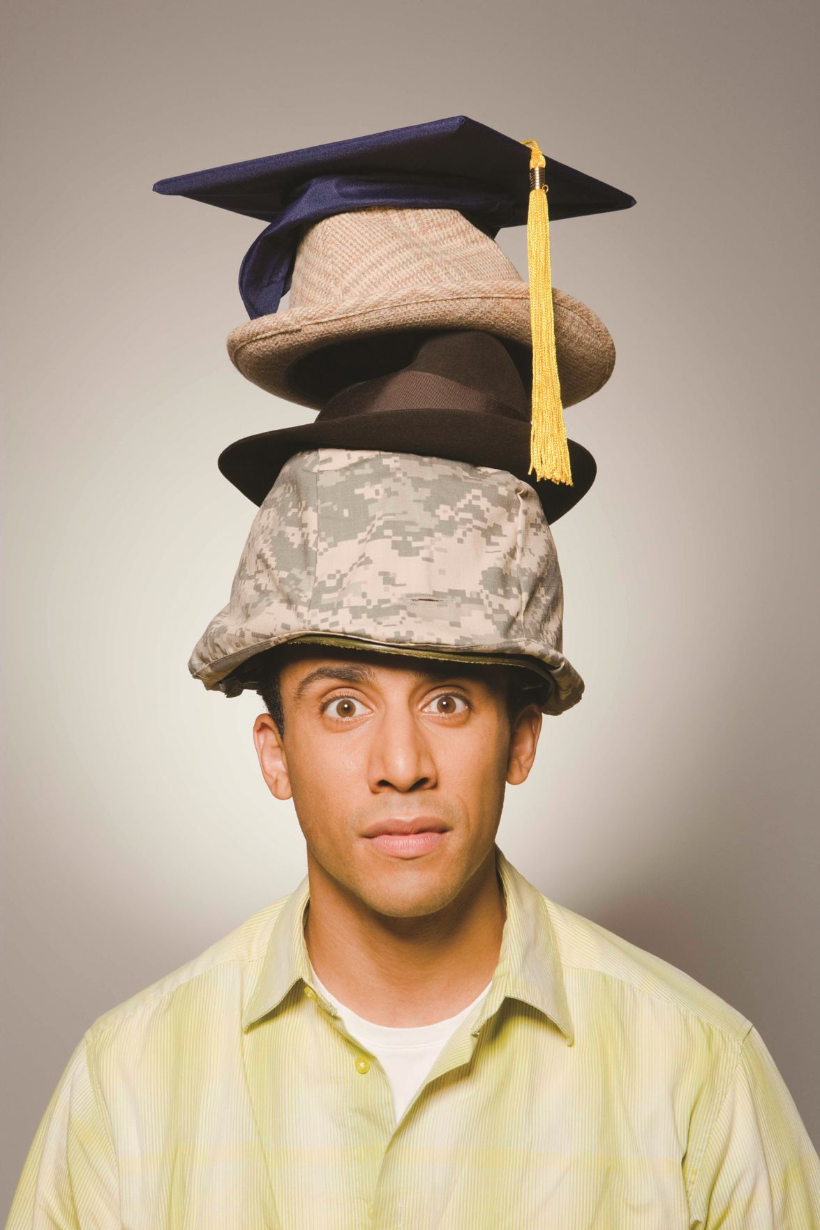 How many hats do you have