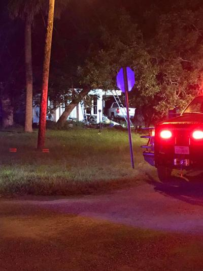 Pickup crashes into Goliad home
