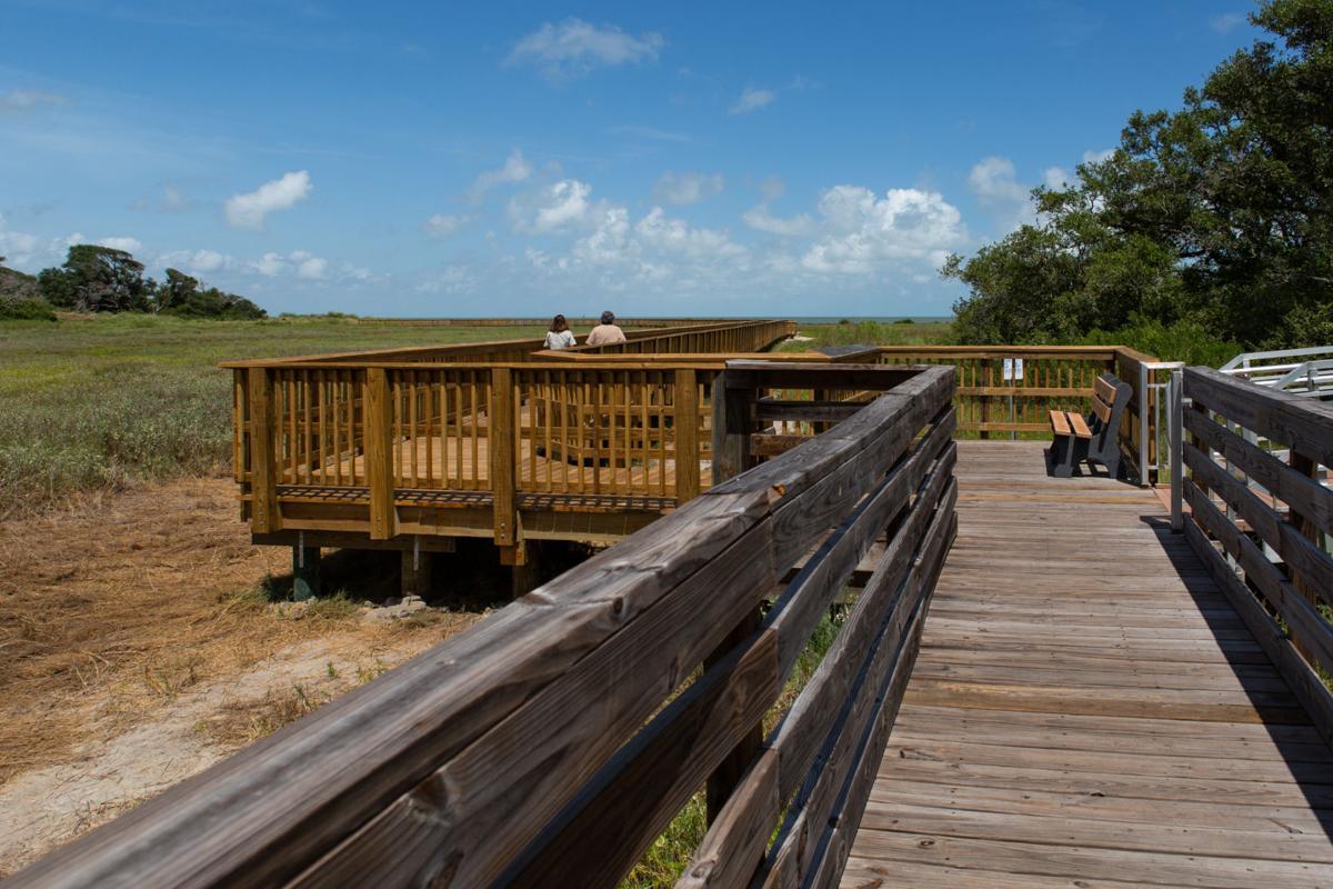 Aransas National Wildlife Refuge Boardwalk