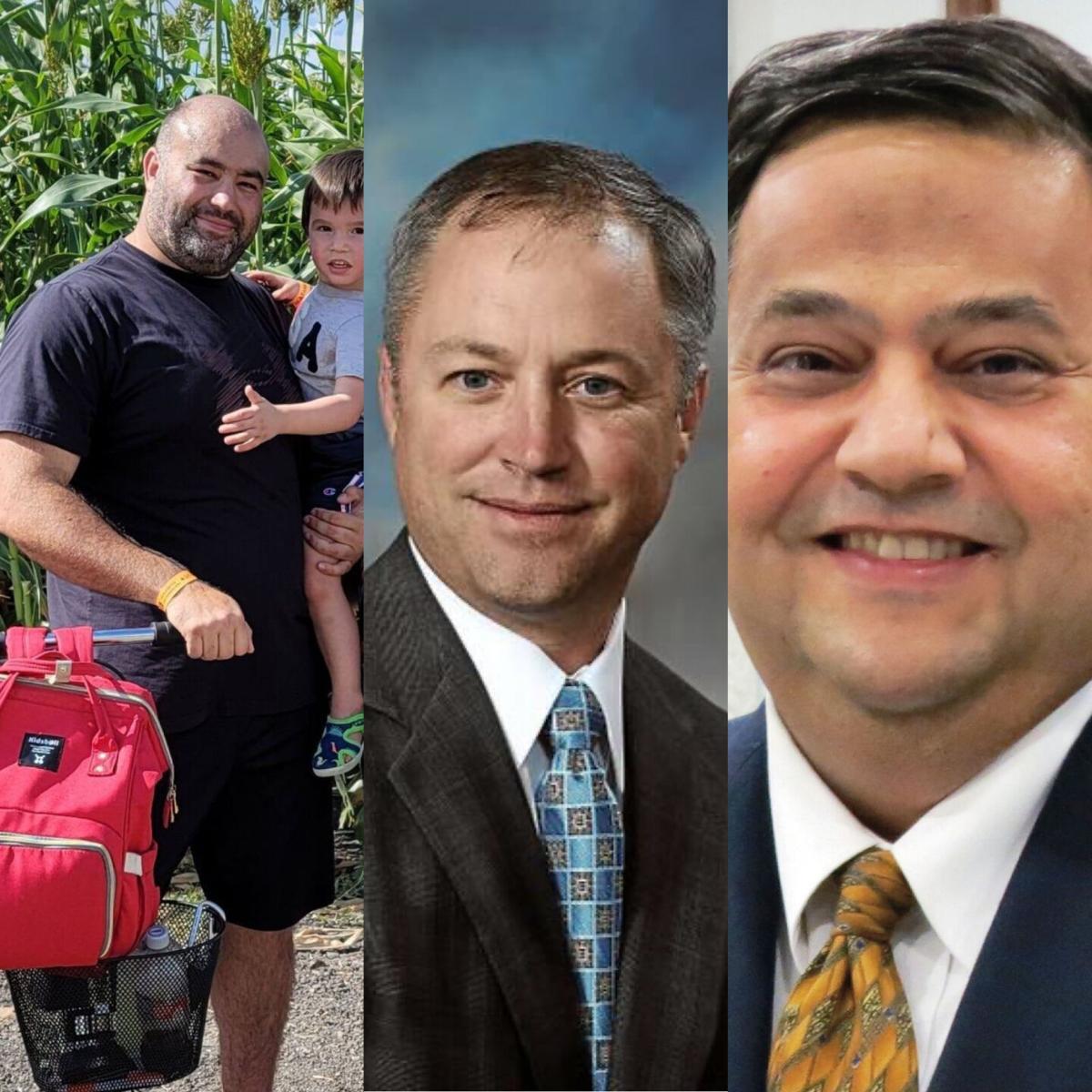 David Crook, Jeff Bauknight, Emett Alvarez