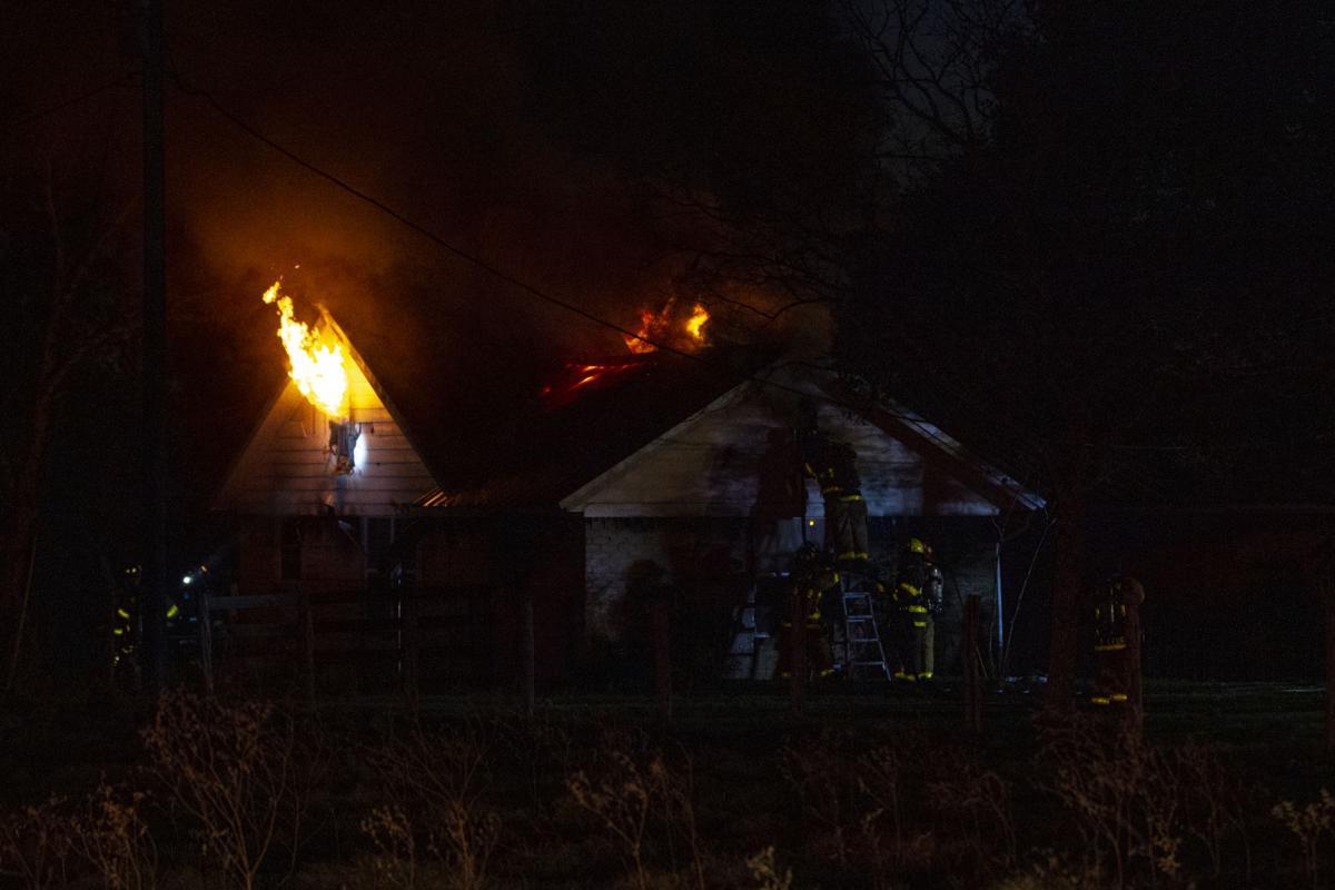House fire at 2224 Garrett Road