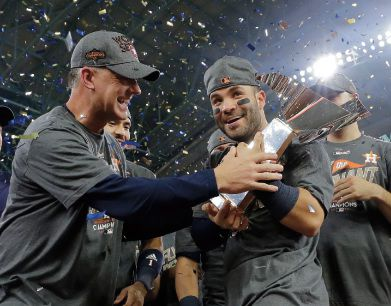 Astros' Altuve named AP Male Athlete of the Year