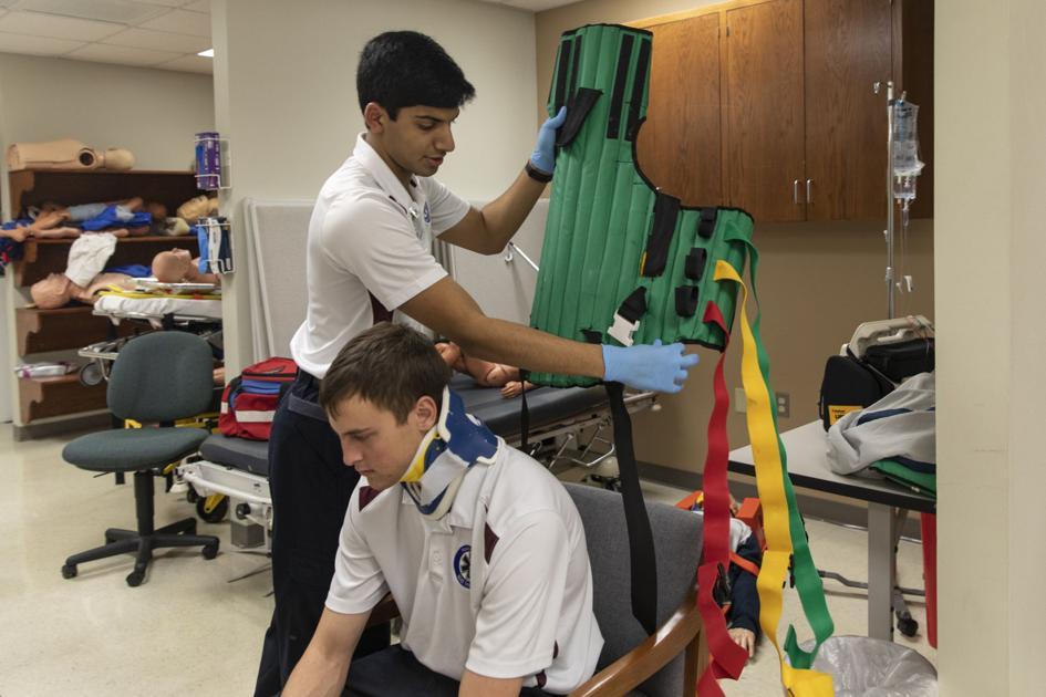 High school senior earns EMT certification before diploma
