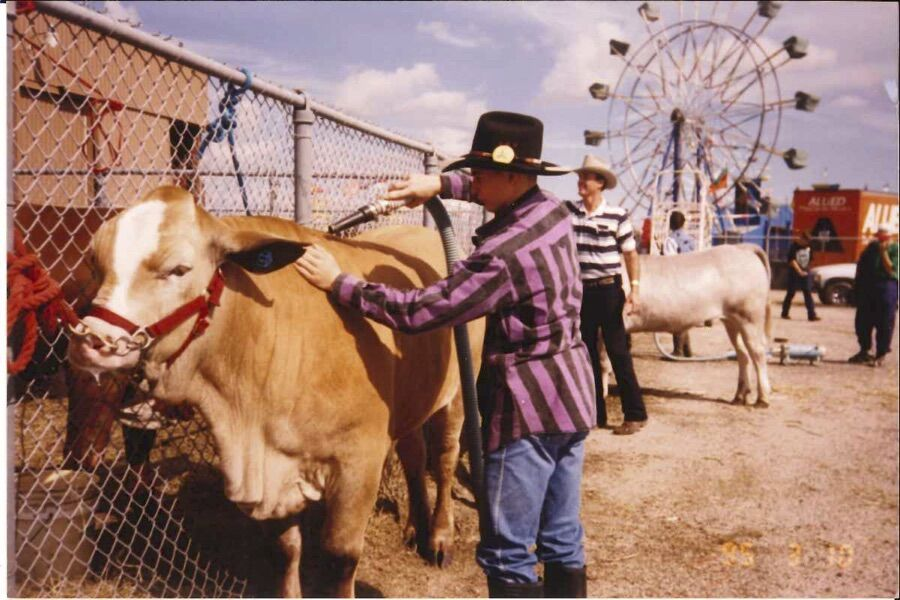 Scherer family gives back to Victoria Livestock Show
