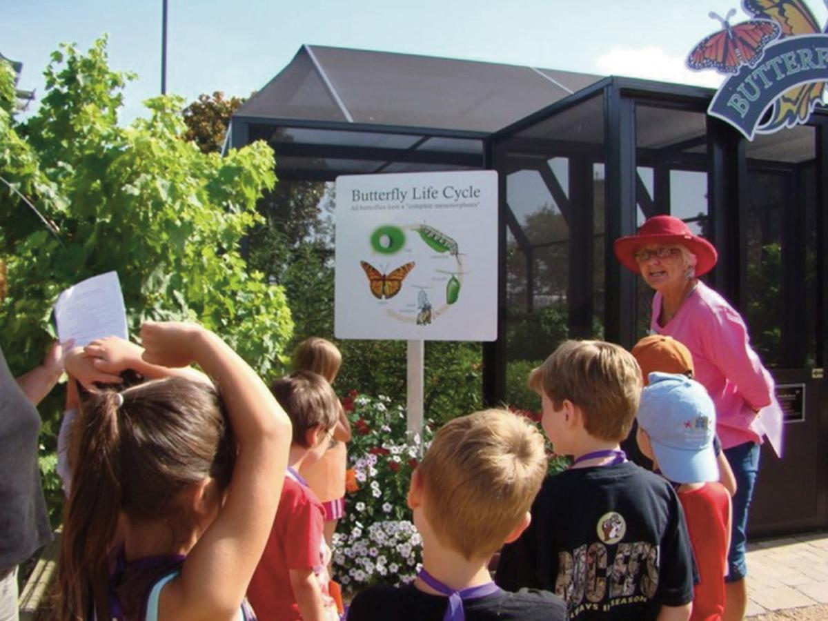 Summer camp offers children chance to experience gardening