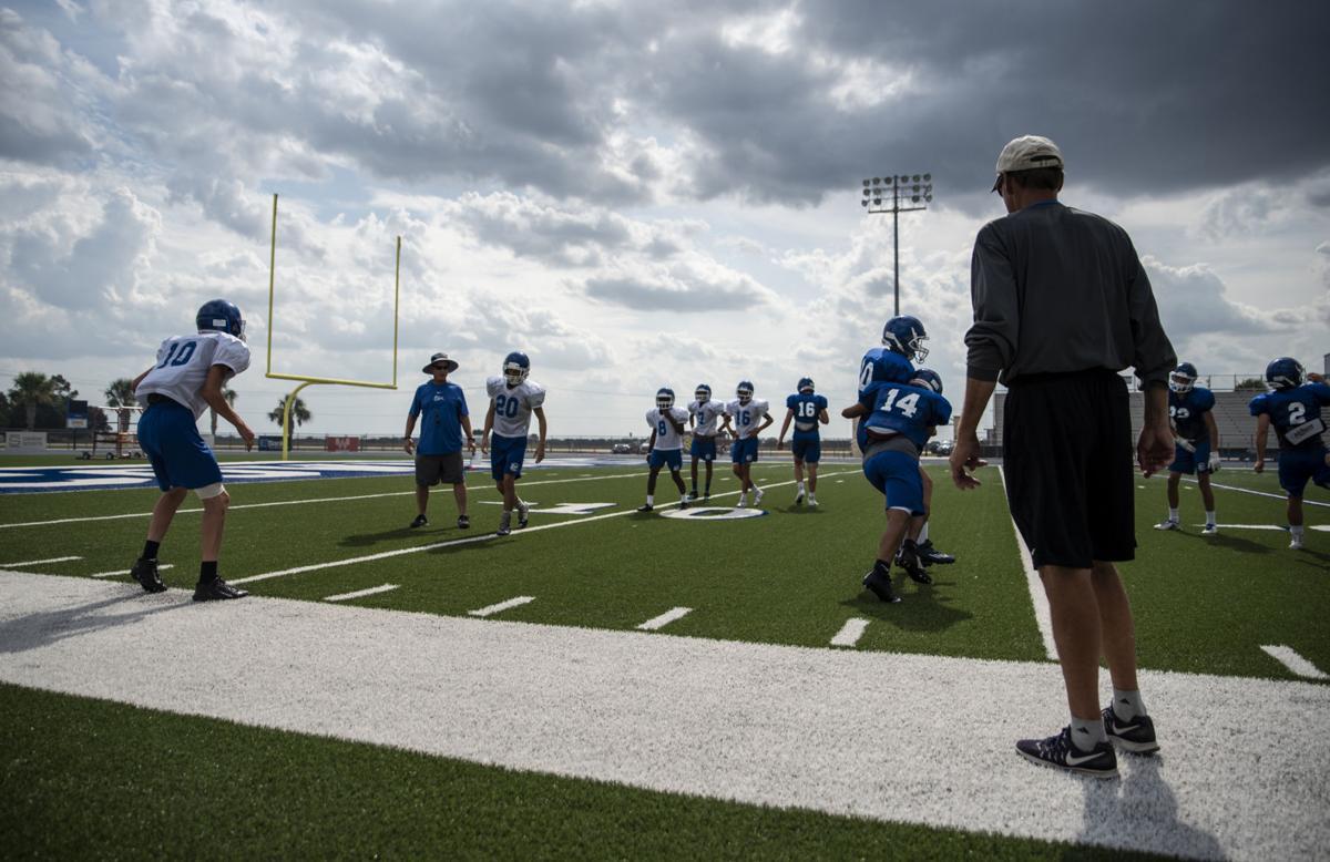 Edna Football Practice