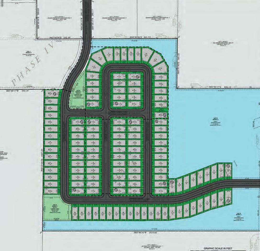 Cypress Grove neighborhood map