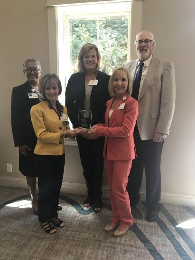 Senior leadership team at Cuero Regional Hospital recently awarded at conference