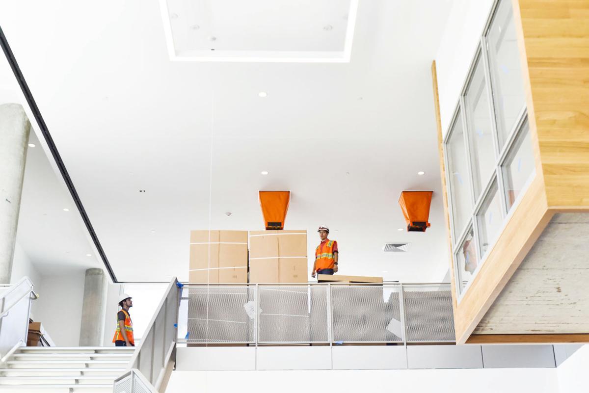 New UHV Library