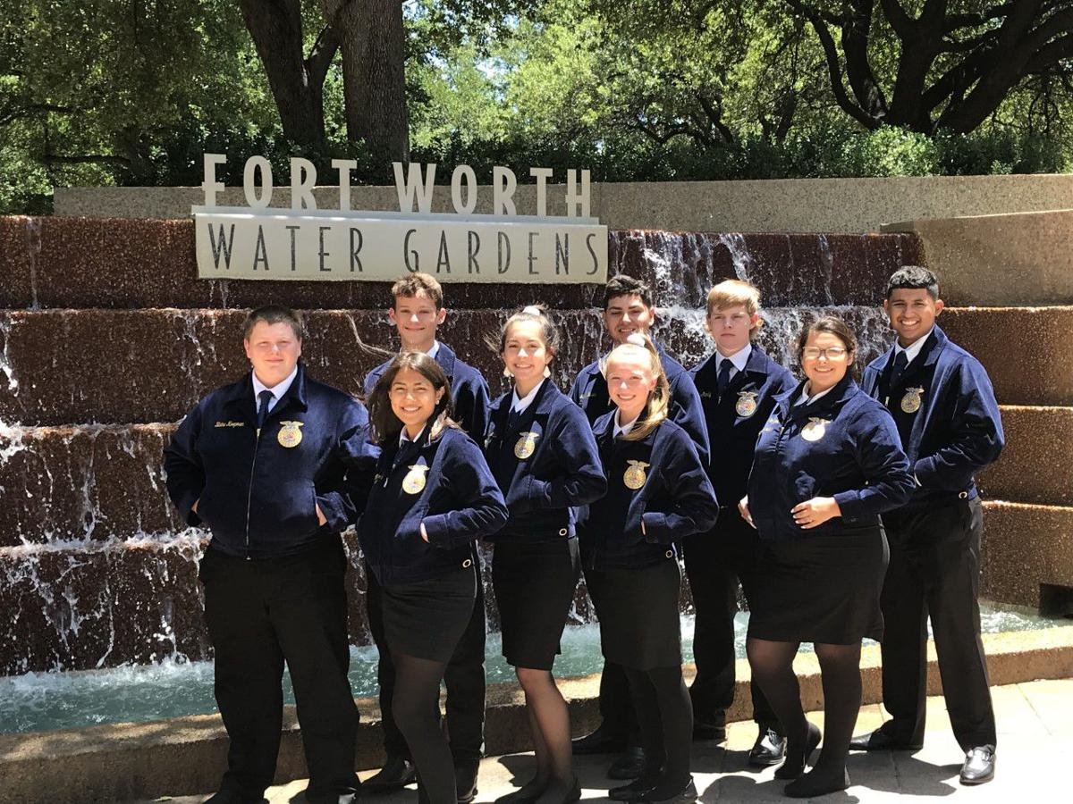 Victoria East FFA members attend convention in Fort Worth