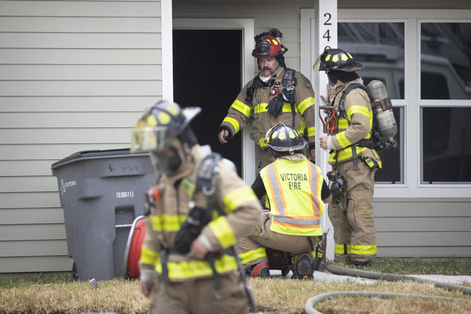 Repaired Victoria home damaged by fire
