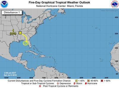 National Hurricane Center monitoring disturbance in Gulf of Mexico