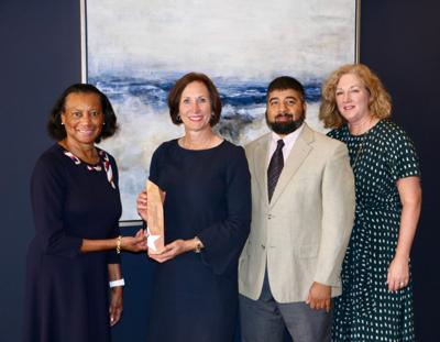Senator Kolkhorst receives Legislative Achievement Award from the AARP