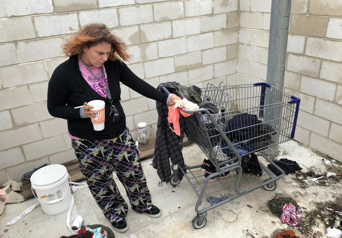 Homeless woman found dead