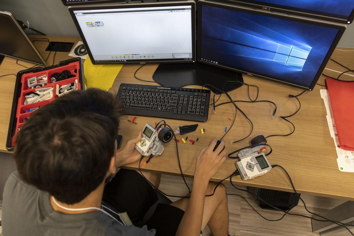 Campers learn robotics basics at UHV STEM camp | Education