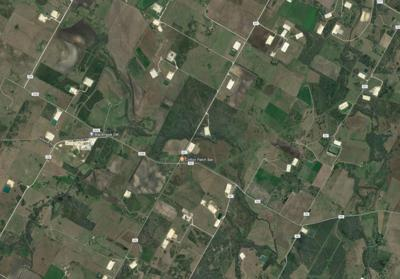 Oil pad sites west of Yorktown