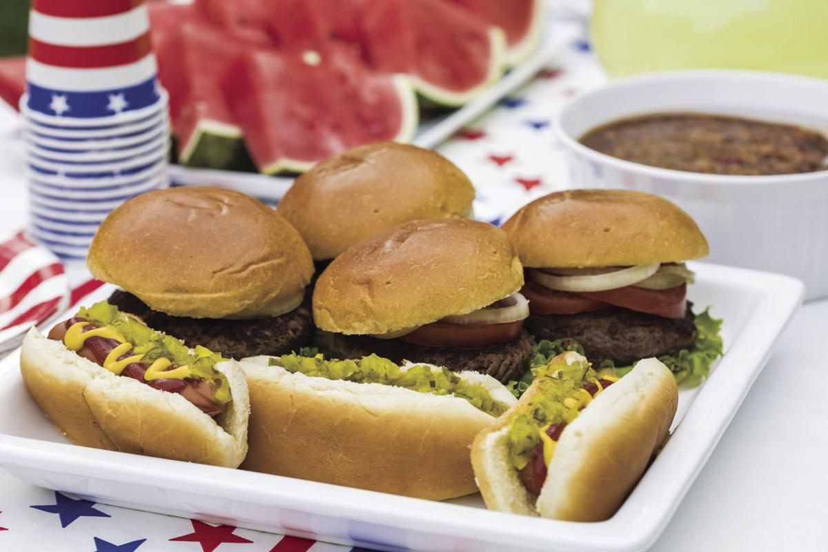 Hamburgers and Hotdogs