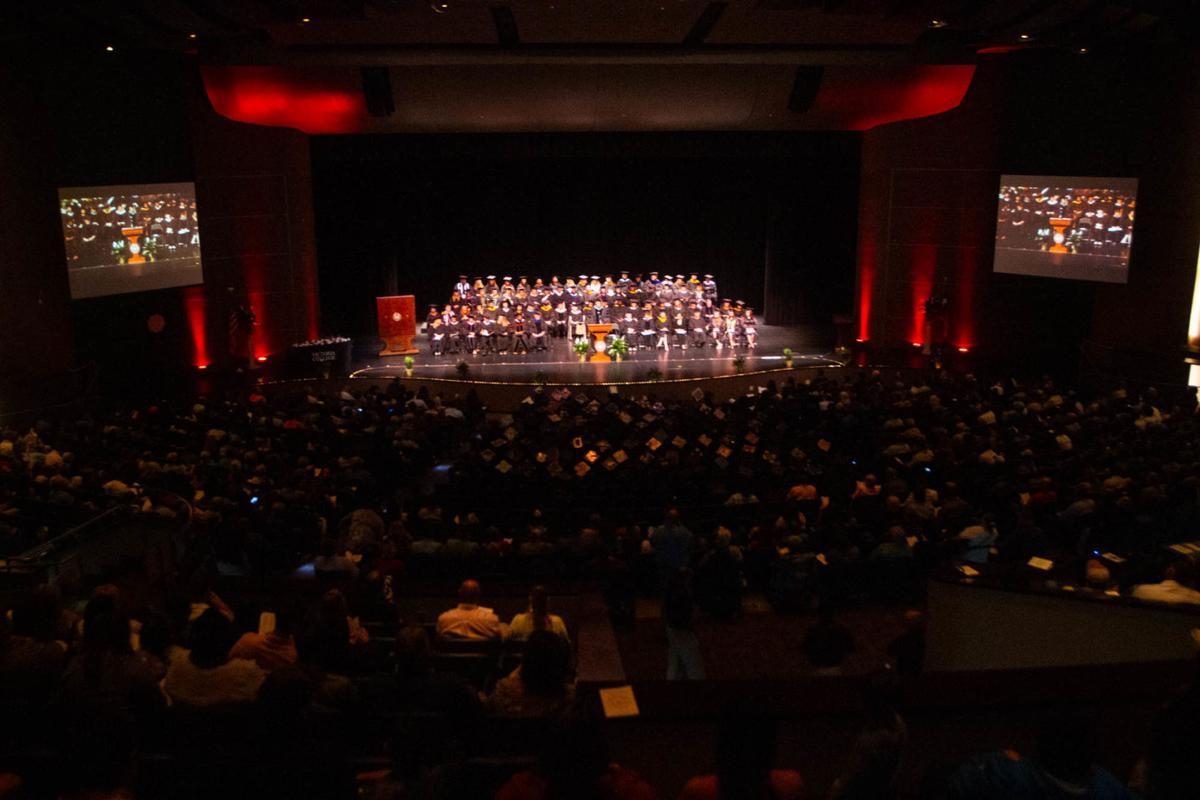 Victoria College graduation