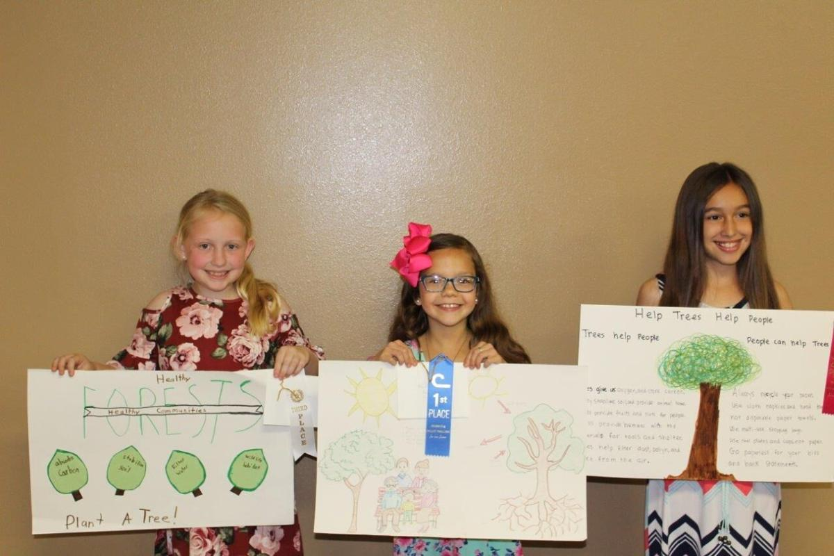 9-year-old poster contest winners
