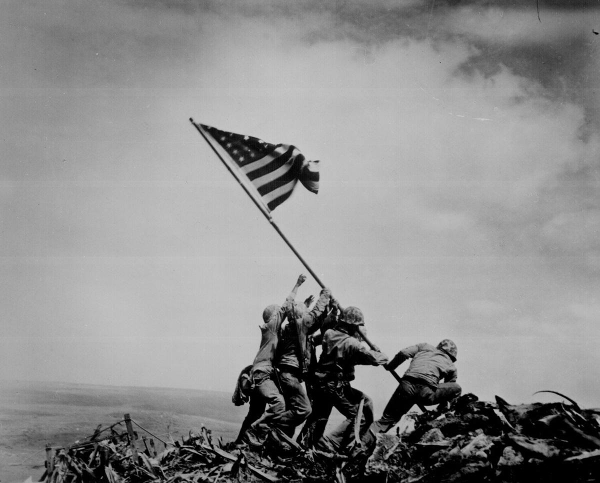 Monday marks 70 years since iconic WWII photo
