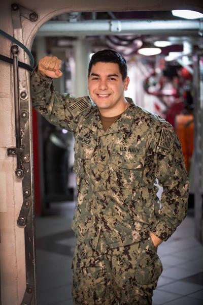 Petty Officer 3rd Class Payton Sanchez