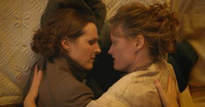Molly Shannon and Susan Ziegler in 'Wild Nights With Emily'