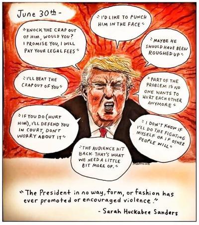 Trump violence