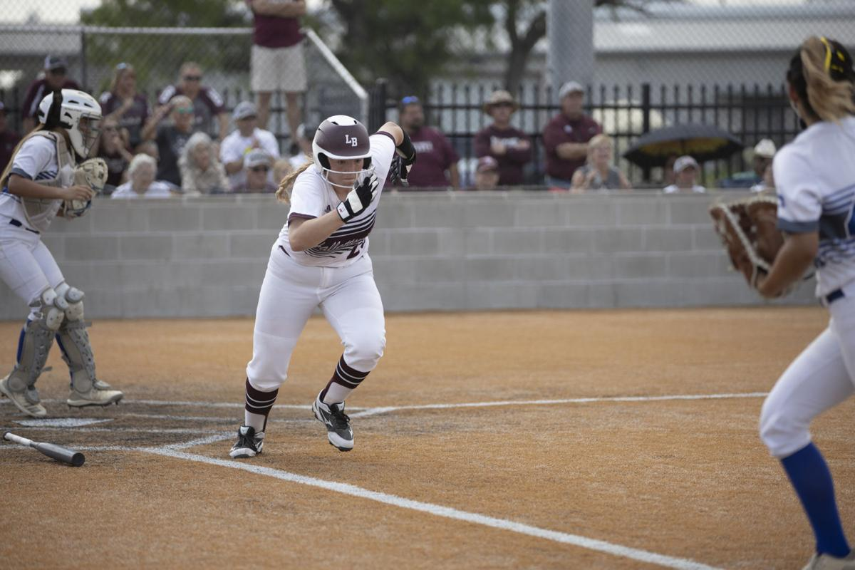 Hallettsville softball advances to next round