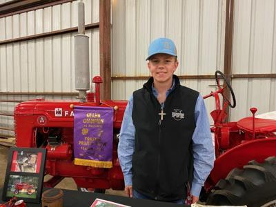 Yoakum senior restores 75-year old tractor