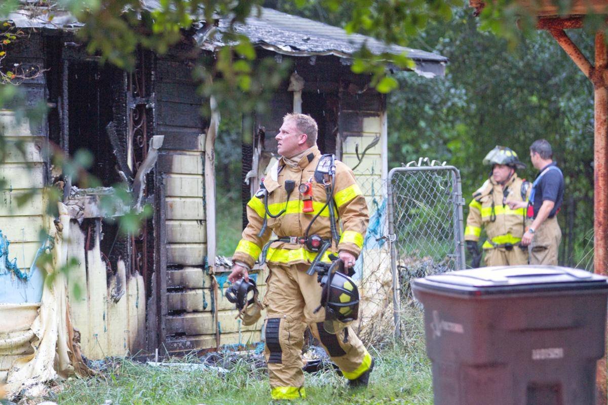 Fire rips through vacant home on South Bridge