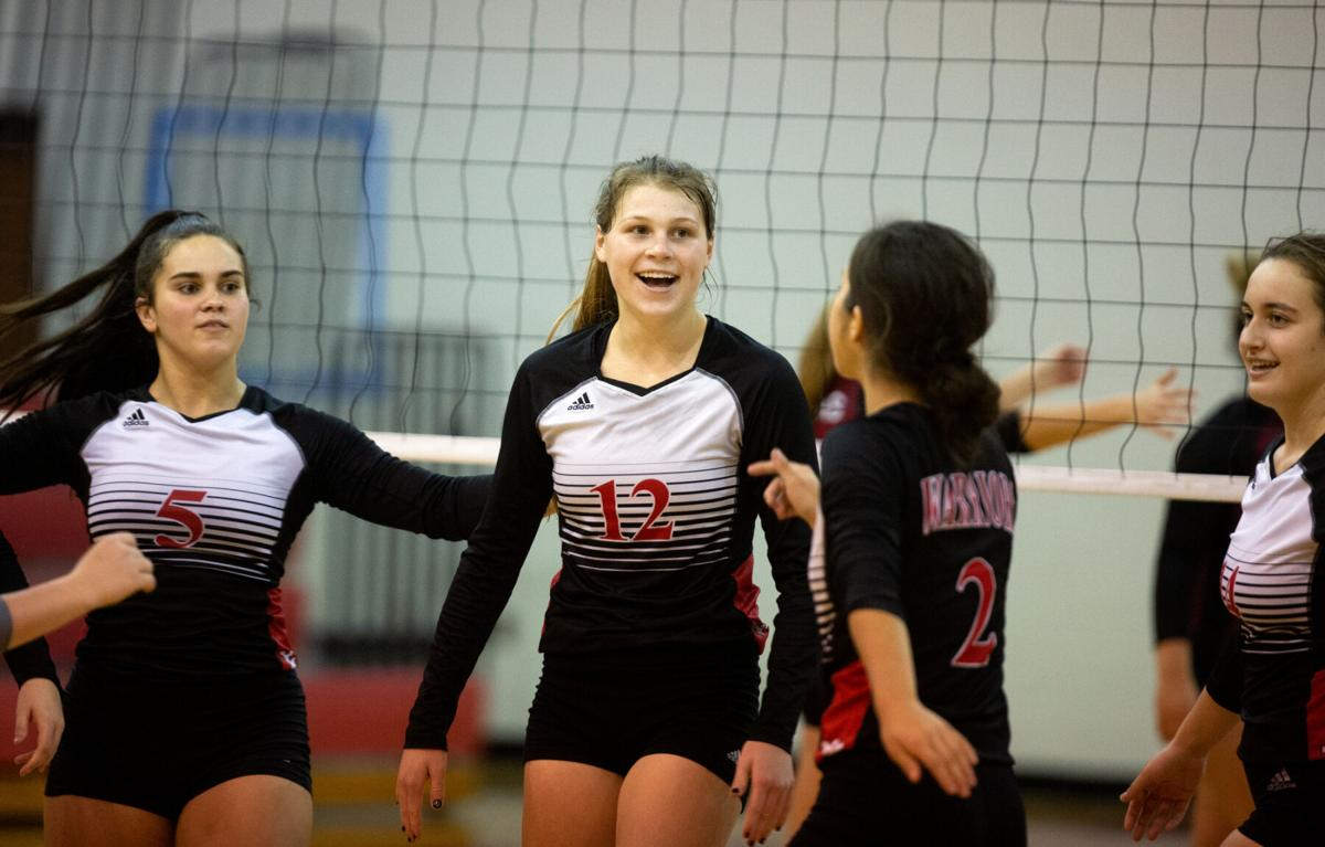 Victoria East vs. Victoria West Volleyball