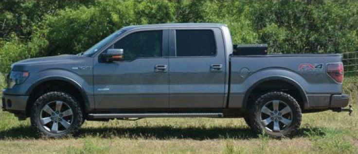 Dr. Glenn Layne Towery's pickup truck