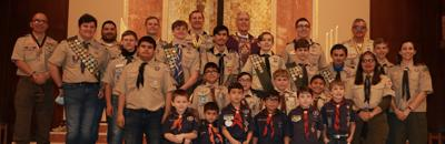 Cub Scouts and Boy Scouts