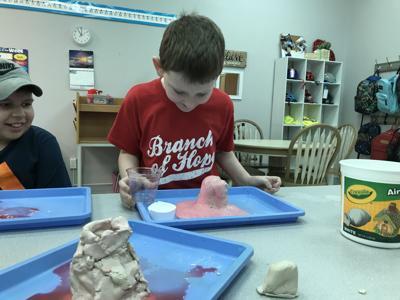 The Vine School specializes in teaching autistic children