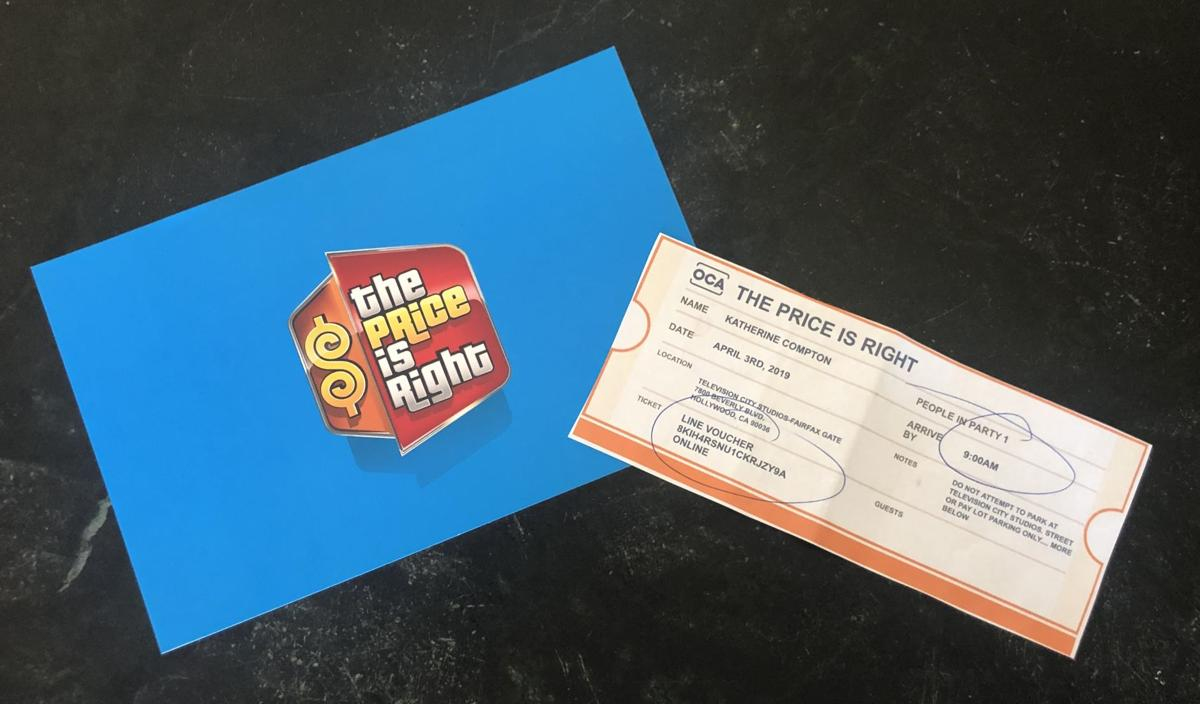 Ticket to 'The Price is Right'